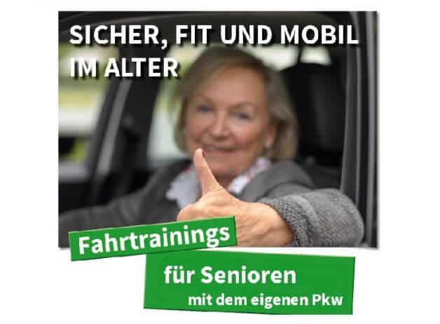 Fahrtraining für Senioren